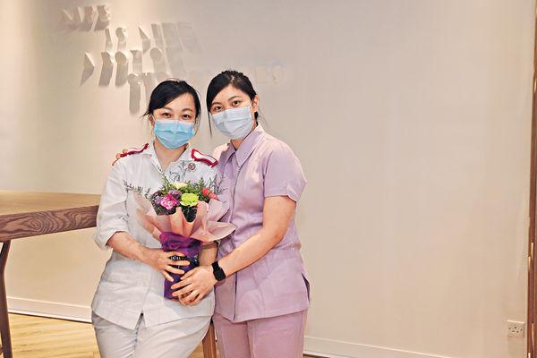 母女檔護士慶母親節:一家開心 日日過節