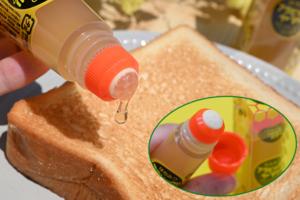 【日本創意產品】日本懶人恩物「膠水造型」蜜糖筆 唧一唧超方便直接搽麵包/Pancake