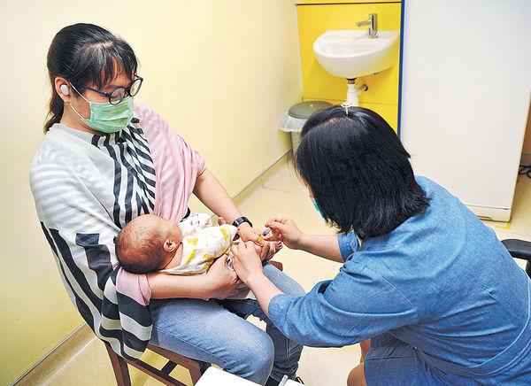 家長沒按時帶子女接種疫苗 衞生署籲速預約