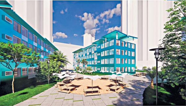 社聯申建組合屋 料供360單位 選址將軍澳 擬作3棟4層高