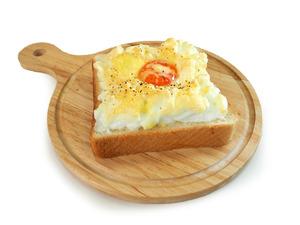 【早餐食譜】4步簡易完成打卡食譜 爆漿芝士雲朵多士