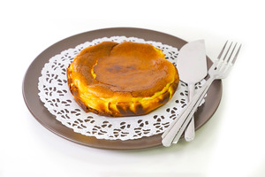 【蛋糕食譜】3步零失敗新手甜品  人氣大熱巴斯克芝士蛋糕食譜