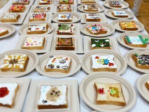 【卡通多士】日本非一般花樣早餐料理  Duffy/無臉男/樂譜/立體麻雀多士