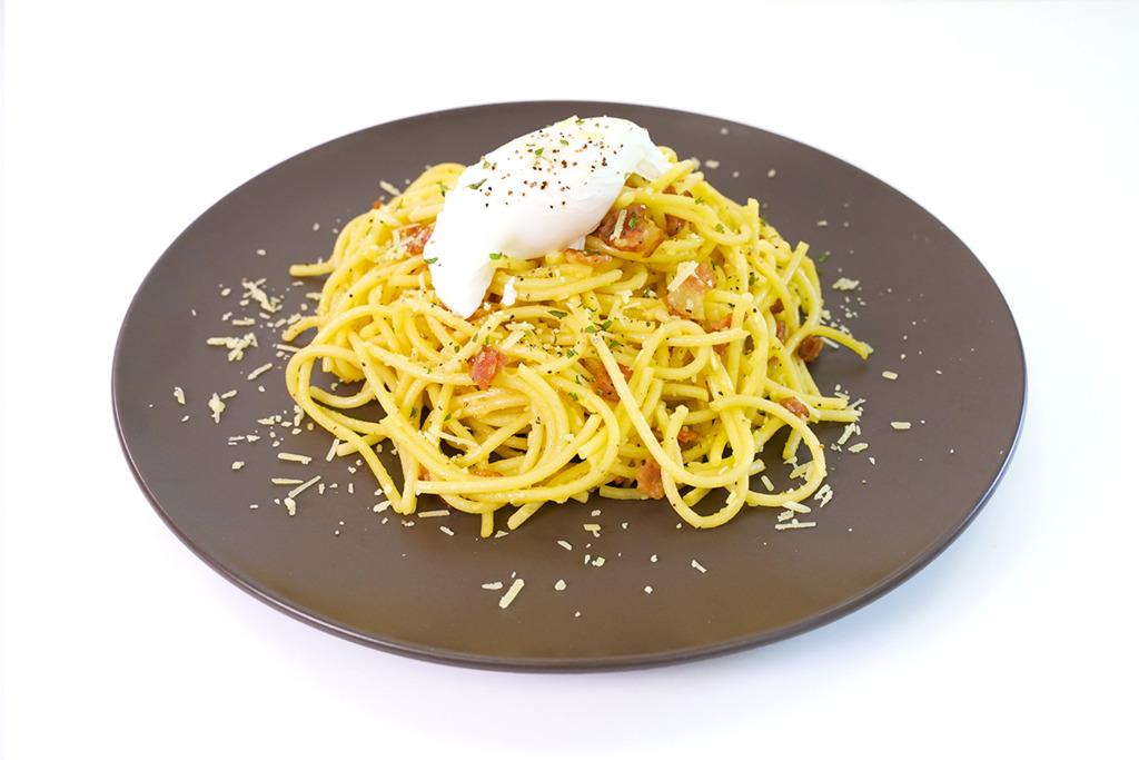 【卡邦尼意粉食譜】3步超簡易完成西式食譜  簡易版卡邦尼意粉