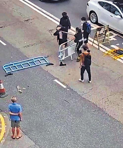 周日遊行有女子遇襲 警拉16歲男生
