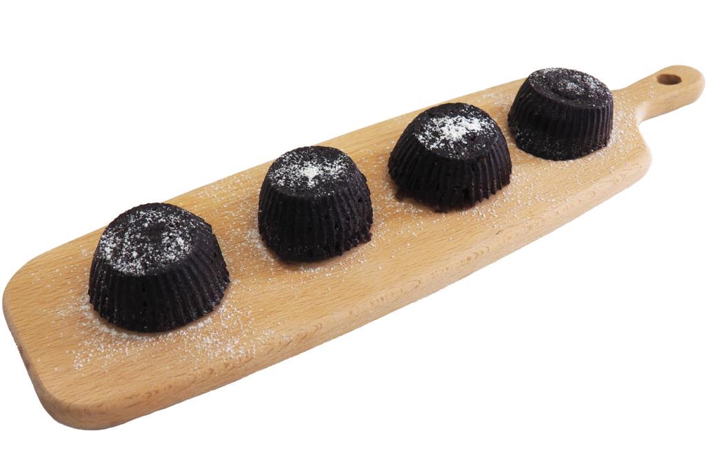 【甜品食譜】零失敗4步簡易完成!免焗爆漿心太軟