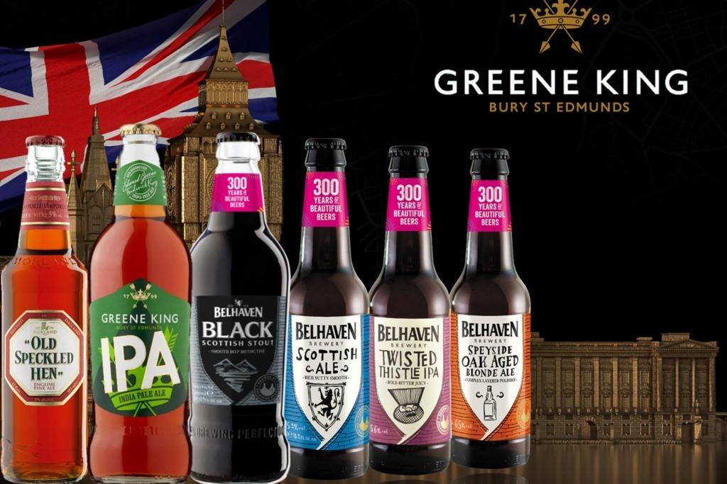 【手工啤酒】英國200年啤酒品牌GREENE KING登陸香港  英倫特色精釀啤酒/手工啤酒系列指定超市有售