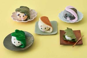 【日本雜貨】日本超可愛麻糬精品系列  倉鼠和菓子鎖匙包