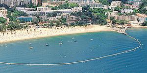 周末泳灘嬉水 消暑樂游遊