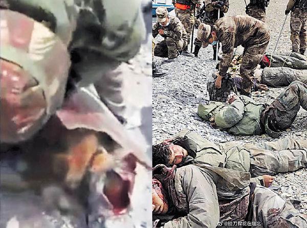 網傳中印 再爆衝突 有解放軍士兵疑遭圍毆