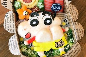 【蠟筆小新美食】日本媽媽巧手自製便當 神還原多款卡通人物!蠟筆小新/布甸狗/小熊維尼