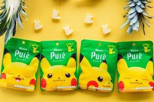 【日本零食】日本Kanro Pure推出期間限定比卡超軟糖 熱帶水果口味+4款超可愛包裝連軟糖造型都是比卡超!