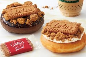 【日本甜品】日本冬甩專門店Krispy Kreme期間限定 推出Lotus焦糖脆脆餅乾系列