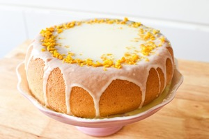 【蛋糕食譜】簡單免焗蛋糕食譜 電飯煲就整到! 鬆軟清新香橙蛋糕