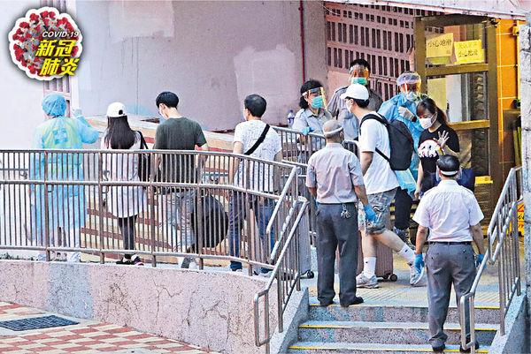 群組再多1人確診 祿泉樓10及12號單位 百人疏散檢疫