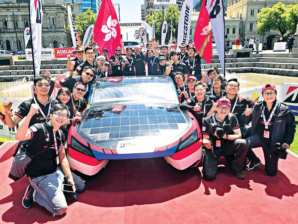 IVE奪世界太陽能車挑戰賽季軍 力壓世界名校車隊