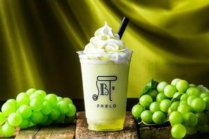 【日本美食】日本PABLO推出夏日消暑飲品 超清甜香印青提果凍沙冰!