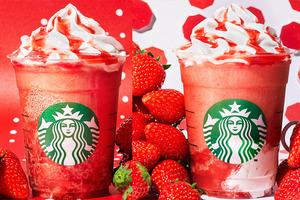 【日本Starbucks】日本Starbucks推出2020年版士多啤梨星冰樂 充滿粒粒果肉/香甜果凍
