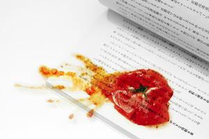 【日本雜貨】日本設計師創超像真搞笑精品  爛番茄書籤/杯墊/餐墊