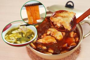 【酸菜魚湯包/水煮魚料理包】$78二人份懶人即食酸菜魚 10分鐘煮好麻辣水煮魚紅薯粉!