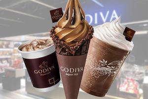 【雪糕優惠】GODIVA推出期間限定優惠  限量黑朱古力軟雪糕/朱古力咖啡特飲買一送一