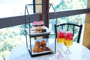 【大澳美食】大澳文物酒店玻璃屋餐廳「Tai O Lookout」 無敵大海景/2層架tea set/大澳特色小食