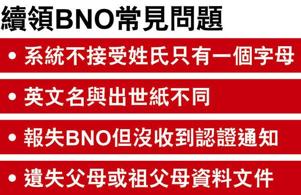 政黨兩月內收2500宗BNO查詢 有市民因姓氏單字母未能申請