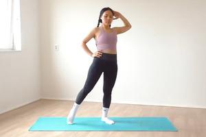 【健康減肥】月經期間也可以做!居家8分鐘簡易瘦腰腹肌運動 全程站立/零器材/8個動作減肚腩/舒緩經痛水腫