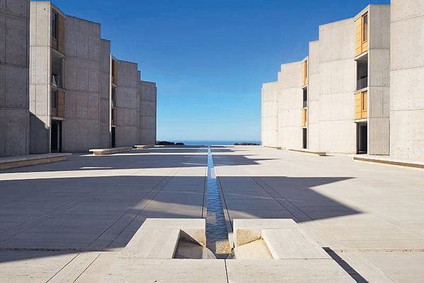 科學建築之神殿Salk Institute