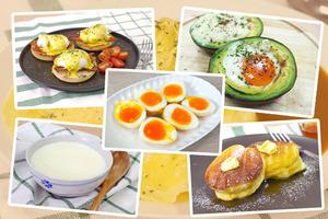 【蛋食譜】即睇25款簡易雞蛋料理食譜大全  韓式雞蛋卷/溏心蛋/梳乎厘班戟/鮮奶燉蛋/班尼迪克蛋