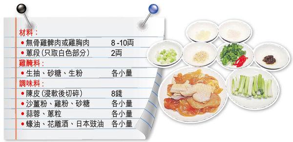 名廚教 陳皮煎雞肉甘香嫩滑