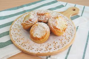 【蛋糕食譜】3步完成煙韌甜品!椰汁麻糬蛋糕仔食譜
