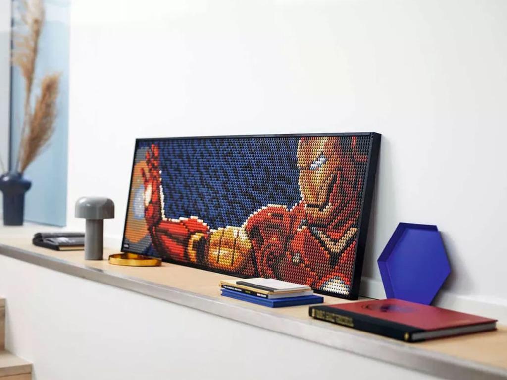 LEGO 31199 Marvel Studios Iron Man 鋼鐵人馬賽克畫