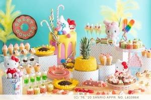 【日本美食】大阪希爾頓酒店推Hello Kitty & Melody 主題甜品自助餐 任食超過30款造型可愛夏日清新甜點