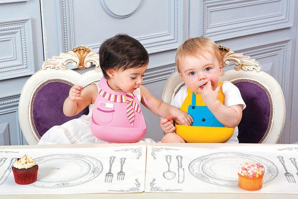 英倫晚宴Style嬰兒圍兜