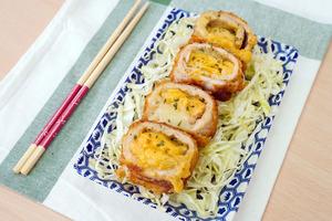【炸豬扒食譜】3步自製韓國大熱街頭小食  流心芝士吉列豬扒食譜