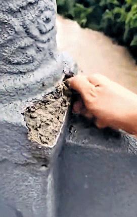 重慶大橋護欄「一捏就散」 官方解釋︰完工未驗收