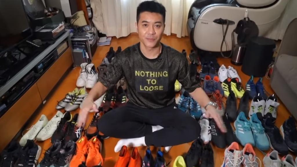【留番7對畀自己】梁漢文「斷捨離」捐過百對波鞋 「以為自己係C朗拿度」