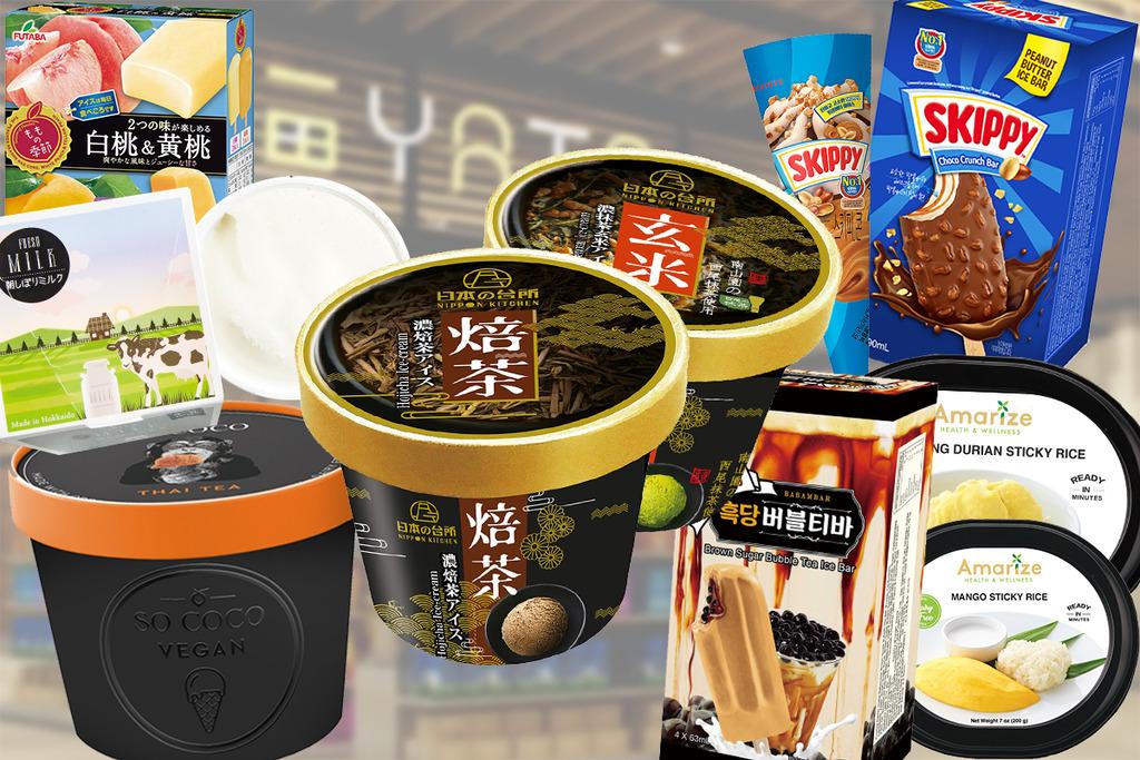 【一田雪糕】一田超市夏日雪糕祭亞洲篇推出多款獨家限定冰品 日本直送雪糕/十字牌Gelato/手工雪條