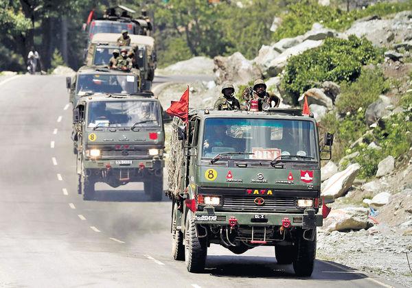 中印部隊邊境脫離一綫接觸