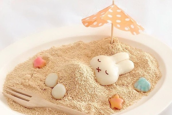 【Miffy甜品】日本忠粉自製多款Miffy造型料理 超可愛白玉糰子/忌廉卷蛋/便當