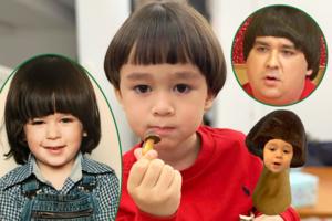 【威本聯盟】《超人回來了》William招牌齊陰髮型激似蘑菇朱古力餅 強大基因跟兒時Sam爸爸似足餅印一樣!