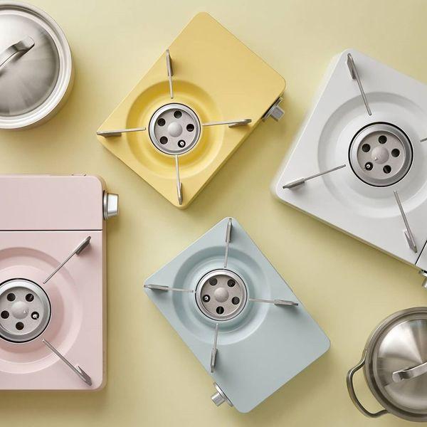 【廚具用品】韓國人氣廚具品牌Dr. Hows推出馬卡龍色調煮食爐  4款粉色選擇/不同尺寸/烤多士都得!