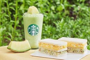 【韓國Starbucks】韓國Starbucks推出夏日消暑新品 新鮮哈密瓜果肉忌廉沙冰