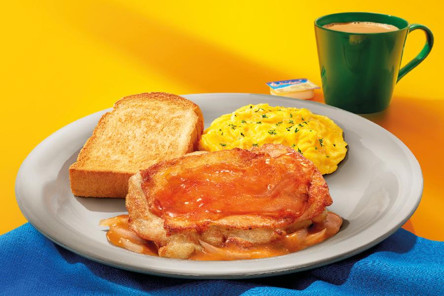 大家樂早餐7月新搞作 麥蘆卡蜜糖入饌 蜜糖雞扒