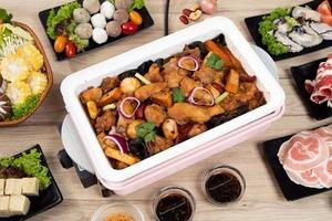 【外賣雞煲火鍋】KKday外賣直送無激素雞煲火鍋    套餐優惠連Recolte粉紅日式電熱鍋