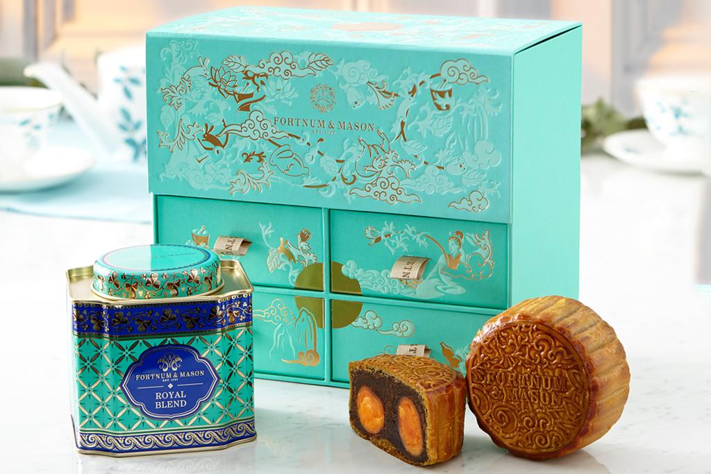 Fortnum&Mason推中秋節月餅禮盒 經典紅茶Royal Blend味蓮蓉月餅