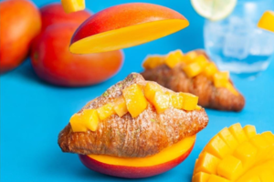 【台灣美食2020】台灣八月堂夏日期間限定新口味 香甜愛文芒果牛角包可頌
