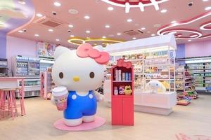 【台灣便利店】忠粉必去!台北711開設全球首間Sanrio主題便利店 超可愛卡通造型商品/多個打卡位
