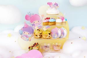 【打卡蛋糕】Vive Cake Boutique再度聯乘Sanrio!Little Twin Stars夢幻下午茶及蛋糕登場